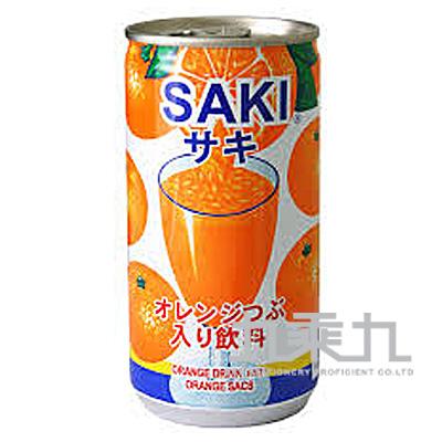 (韓)SAKI柳橙顆粒果汁190ml A000185