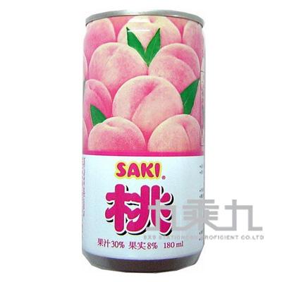 (韓)SAKI蜜桃果肉果汁180ml A001347