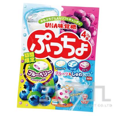 96#味覺噗啾軟糖包-4味藍莓