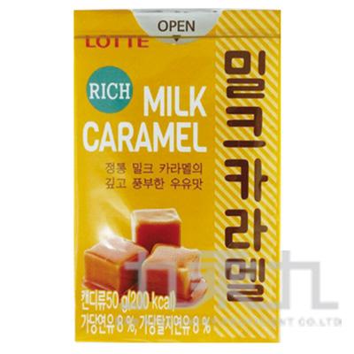 韓國樂天焦糖牛奶糖50g