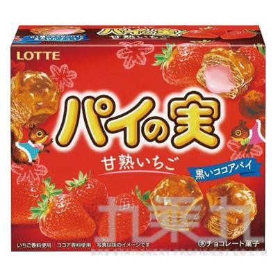 樂天盒裝泡芙餅-草莓