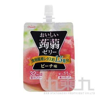達美樂吸管蒟蒻-水蜜桃150g