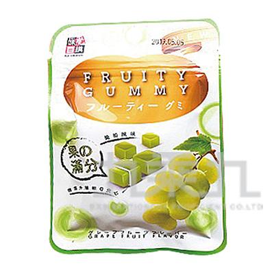 味覺百撰糖霜Q軟糖-白葡萄26g