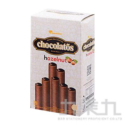 Gery巧克力捲心酥盒-榛果320g