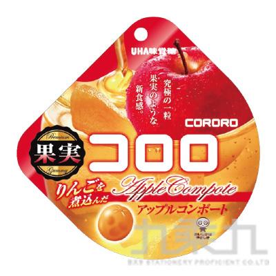 UHA味覺-可洛洛Q糖(蘋果)40g
