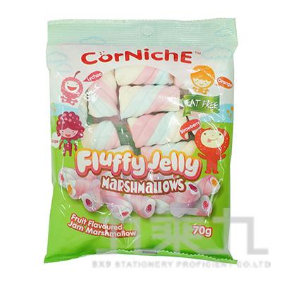 可尼斯泰迪熊棉花糖-水果70g