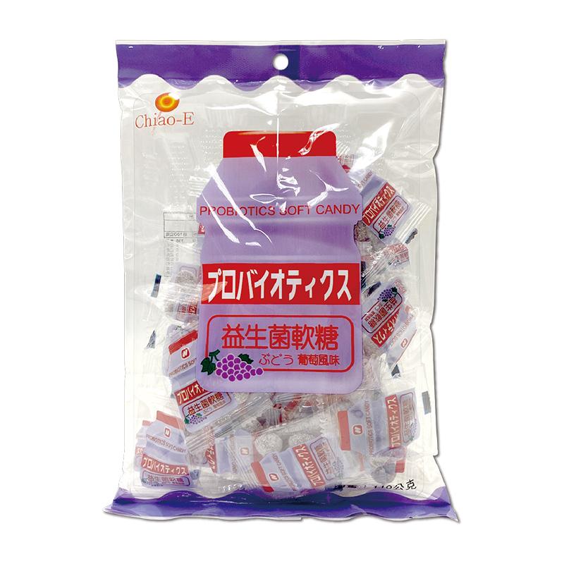 巧益益生菌軟糖-葡萄110g A000536