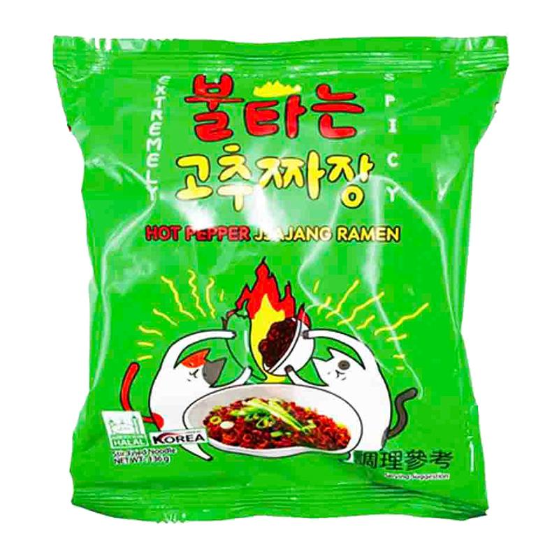 韓國火辣貓 青陽辣椒炸醬麵136g
