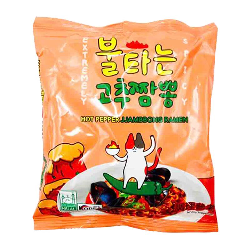 韓國火辣貓 青陽辣椒炒碼麵117g