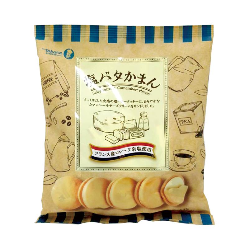 寶製袋裝夾心餅-奶油鹽味137g A004440