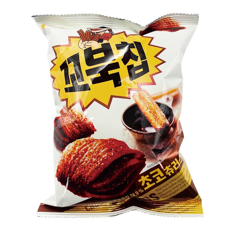 好麗友烏龜玉米脆片80g(巧克力)