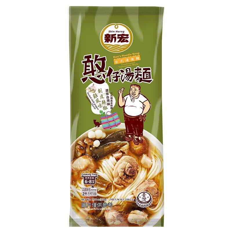 憨仔湯麵-剝皮辣椒雞風味220g