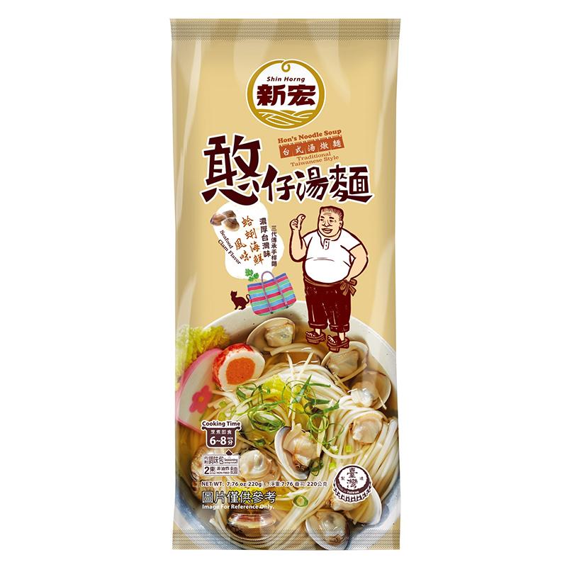 憨仔湯麵-蛤蜊海鮮風味220g