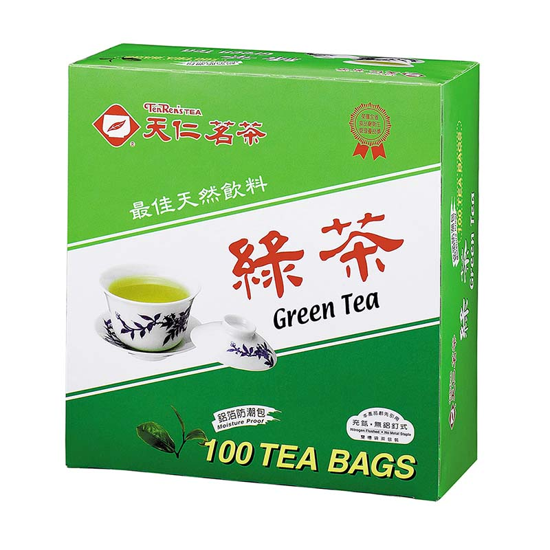 天仁綠茶茶包