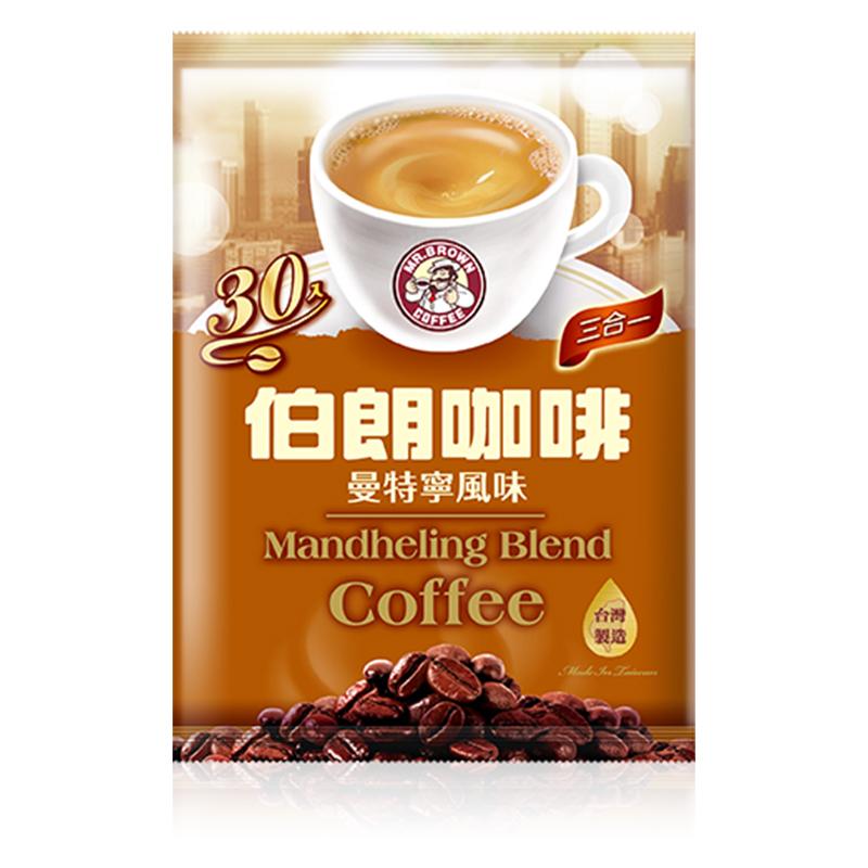 金車伯朗曼特寧三合一咖啡15g/30包