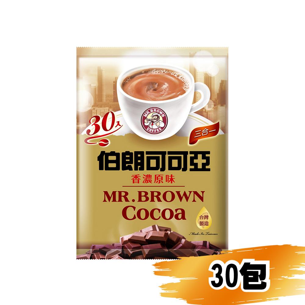 金車伯朗可可亞三合一咖啡19g/30包
