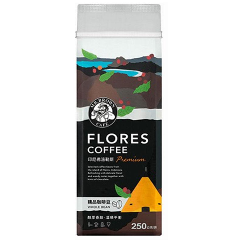金車伯朗精品咖啡豆-印尼弗洛勒斯250g