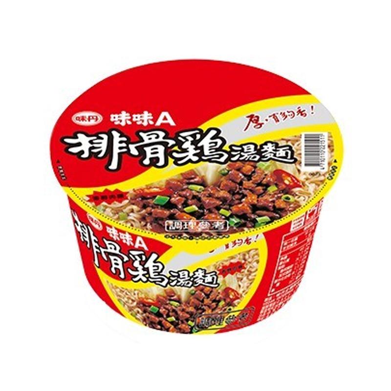 味丹味味A排骨雞麵90g/碗