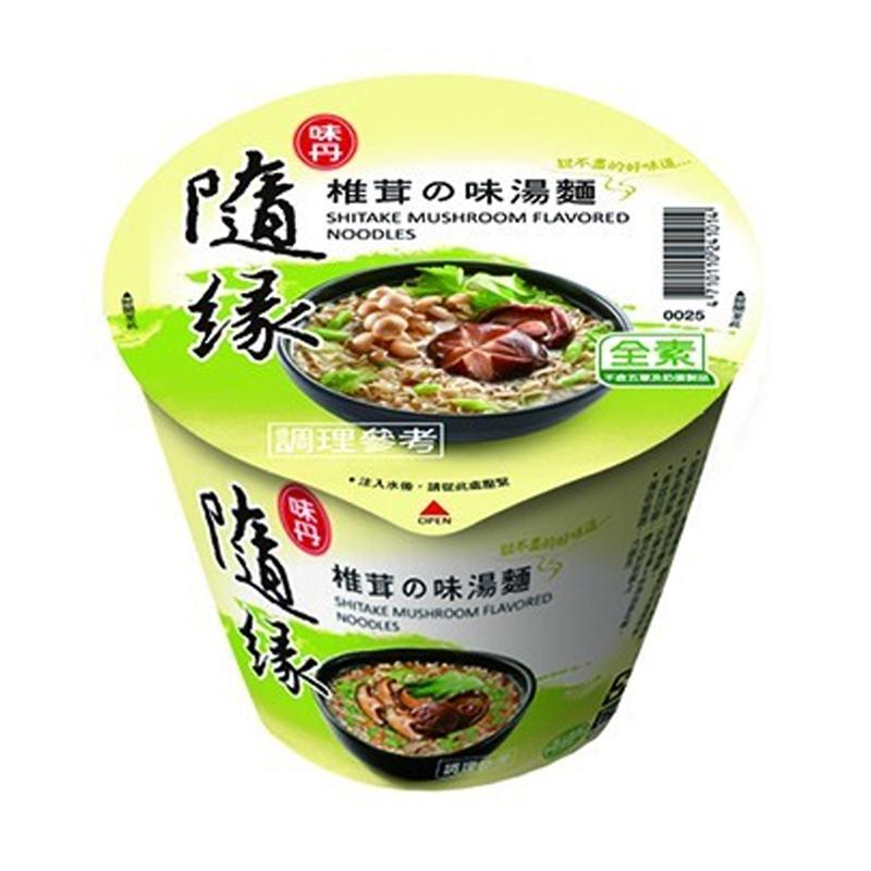 味丹隨緣椎茸之味湯麵60g/杯
