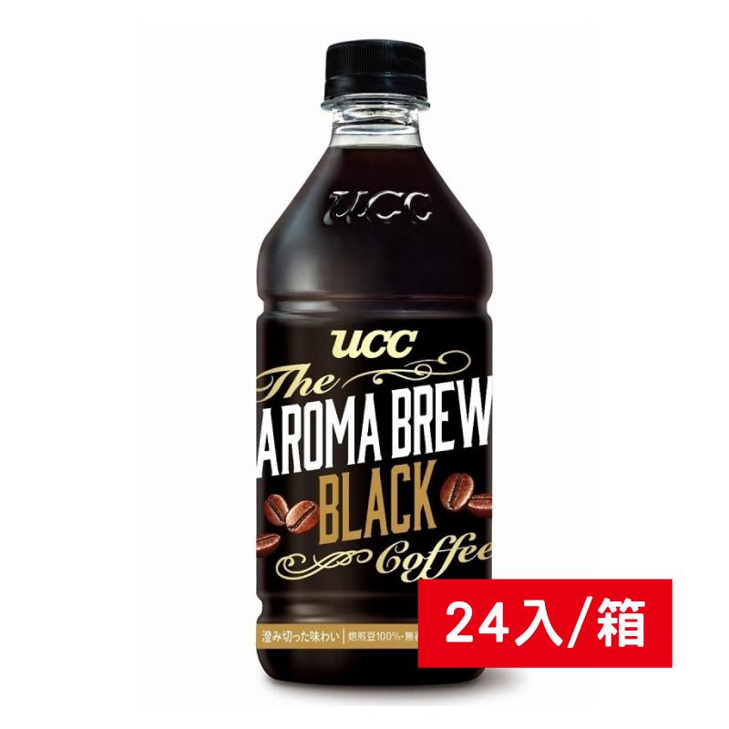 UCC AROMA艾洛馬黑咖啡525ml/24入/箱