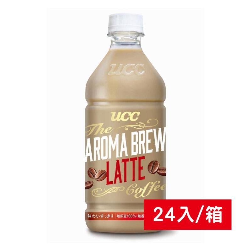 UCC AROMA艾洛馬拿鐵525ml/24入/箱