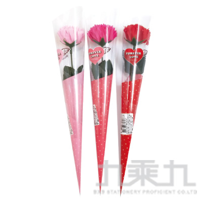 康乃馨香皂花 (隨機出貨)