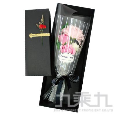 康乃馨玫瑰花束禮盒