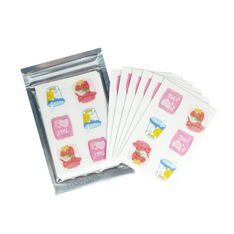 (口罩可貼)-草莓牛奶香氛貼片-薄荷 HF038