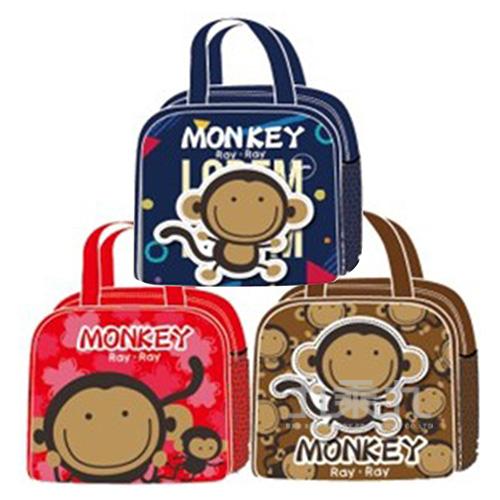 RAYRAY猴加大單層便當袋/3色(款式隨機出貨)