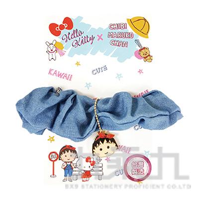 Hello KittyX櫻桃小丸子金屬造型髮束-小丸子