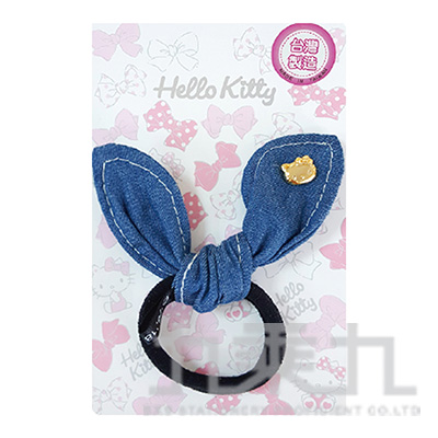 Hello Kitty兔耳造型髮束-金 MT-7011KT-G
