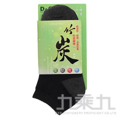 1/4竹炭中性休閒襪-黑 5D328-01-00