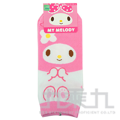 美樂蒂直板襪22-26cm MM-A528
