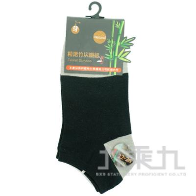 3993 YABY竹炭細針船襪-黑