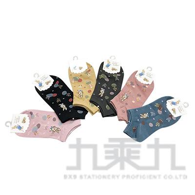 SK3426  PR緹花船型襪