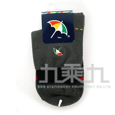 雨傘牌刺繡童襪(L)-中灰 AS142214-L-1