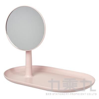 立鏡置物托盤-粉紅色 271211
