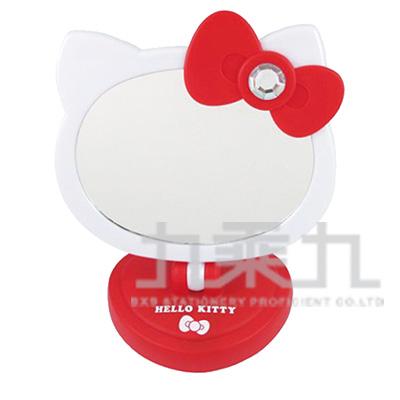 Hello Kitty造型觸控LED桌鏡-紅 MT-760KT-RD