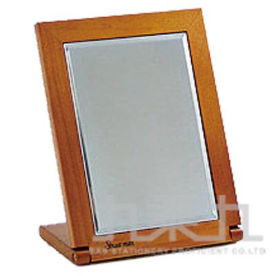 583原木摺疊桌鏡(小)