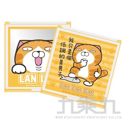 白爛貓方鏡(中) LCMR70-1 (恕不挑款)