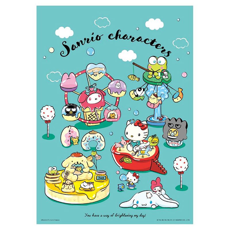 Sanrio characters奇幻樂園拼圖520片