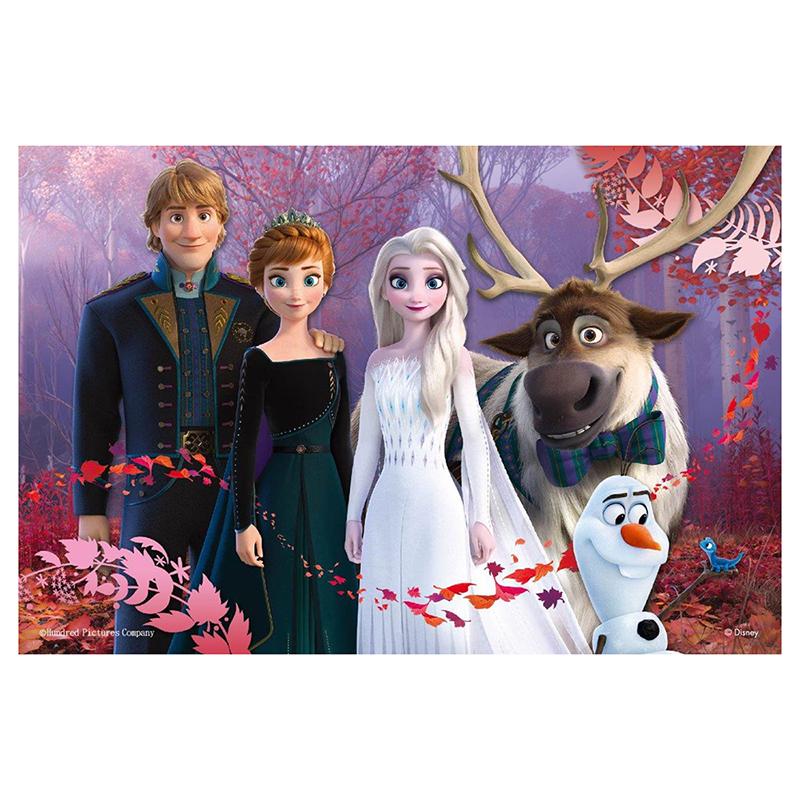 Frozen2冰雪奇緣2鐵盒拼圖36片