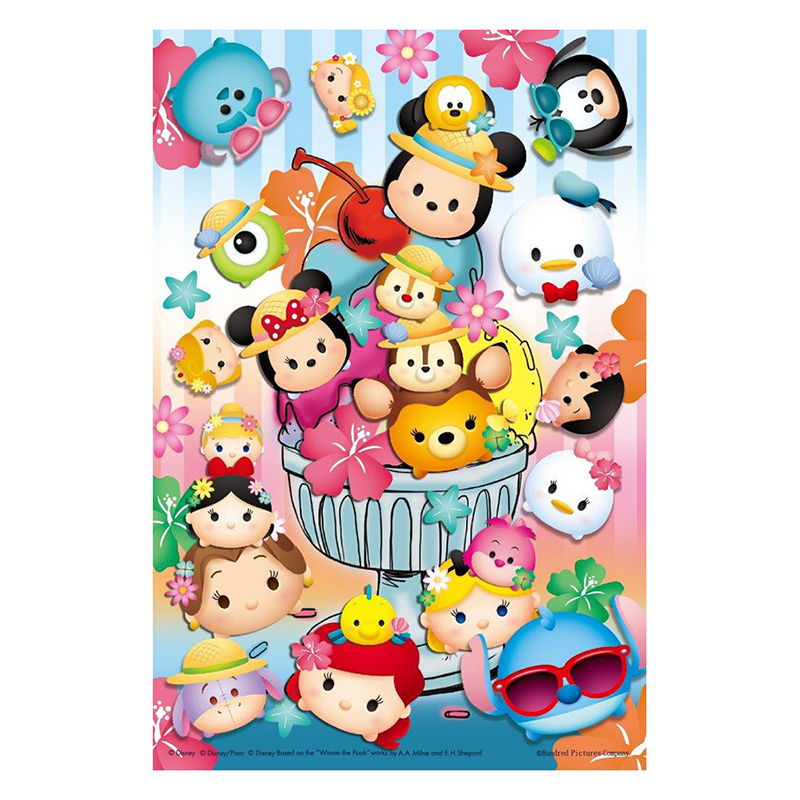 Disney Tsum Tsum 鐵盒拼圖36片