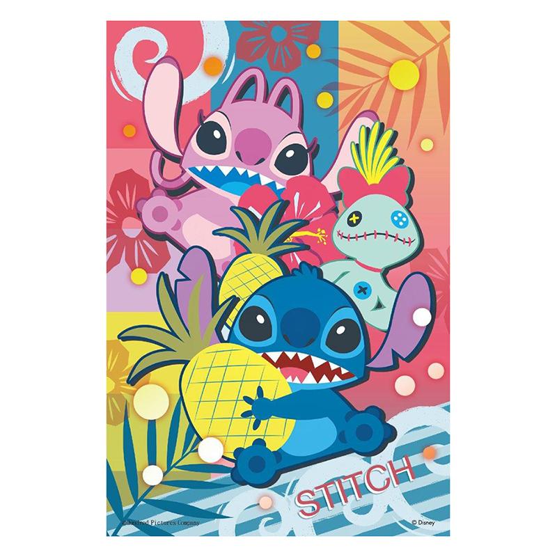 Stitch 史迪奇鐵盒拼圖36片