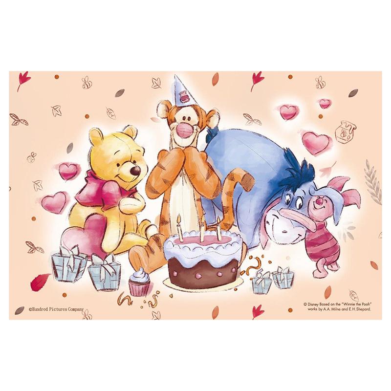 Winnie The Pooh 小熊維尼鐵盒拼圖36片