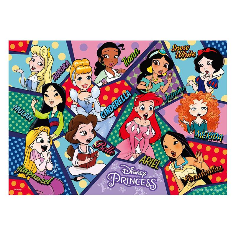 Disney Princess公主(6)拼圖108片