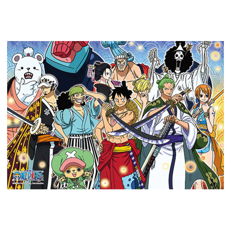海賊王和之國(4)拼圖300片