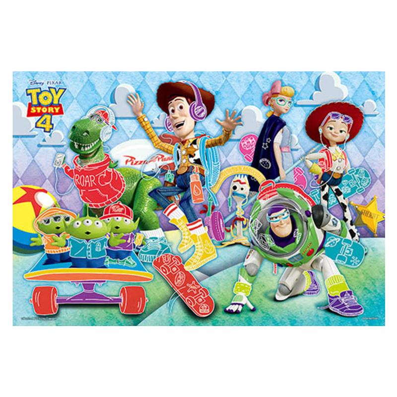 Toy story 4玩具總動員(9)拼圖300片
