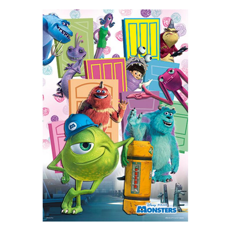 Monsters Inc怪獸電力公司(4)拼圖300片