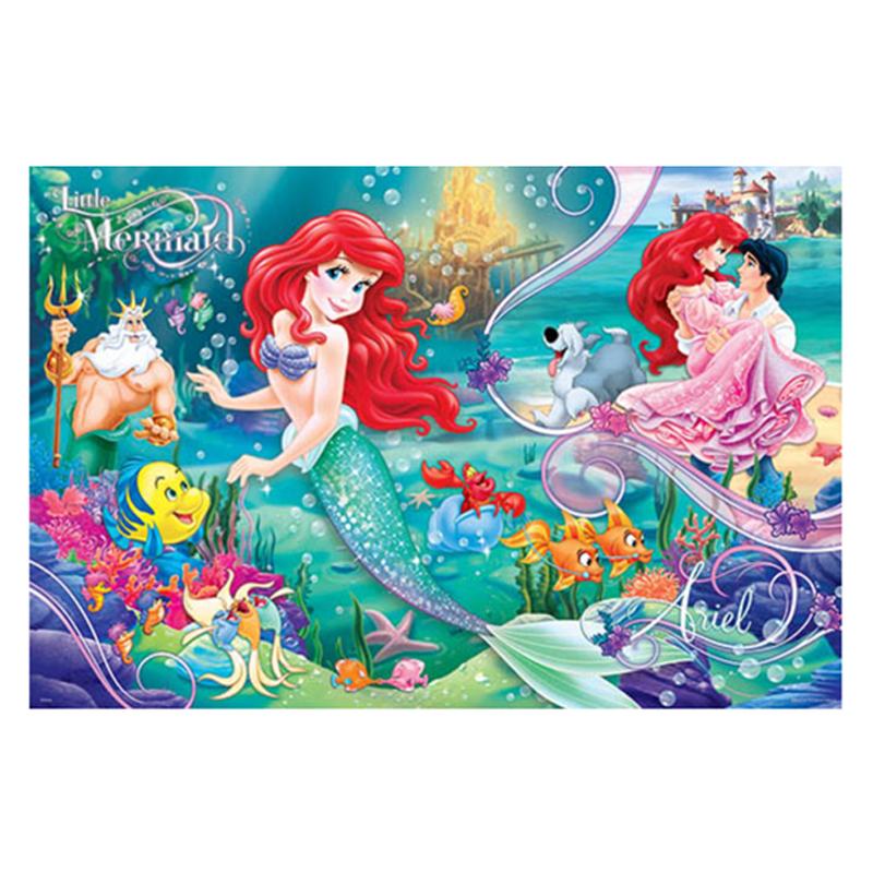 Disney Princess小美人魚(2)拼圖1000片